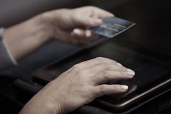 Online banking Royalty Free Stock Photo