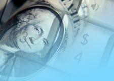 Online bankwezen Stock Foto's