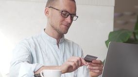 Online bankwezen stock video