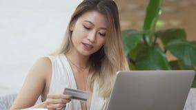 Online bankwezen stock videobeelden
