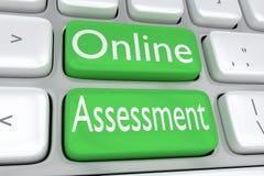 Online Beoordelingsconcept Royalty-vrije Stock Afbeelding