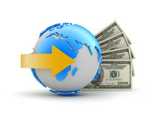 Online betalingen Royalty-vrije Stock Afbeeldingen