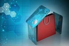 Online betalingsconcept Stock Afbeeldingen