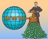 Online biznes Zdjęcia Royalty Free