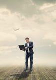Online biznes obraz royalty free