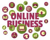 Online biznesowy pojęcie Fotografia Royalty Free