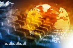 Online biznesowy pojęcie Obrazy Stock