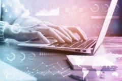 Online biznesowy pojęcie Obraz Stock