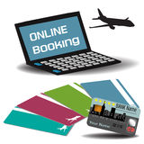 Online booking Royalty Free Stock Photography