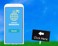 Online Booking Concept Stock Images