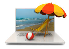 Online Booking Concept - 3D Stock Images