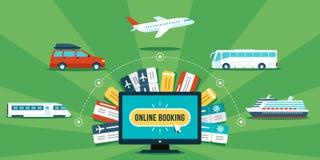 Online booking Stock Photos