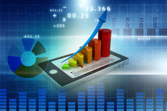 Online business concept Stock Photos