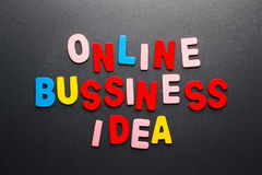 Online business Stock Photography