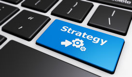 Online Business Strategy Stock Photo