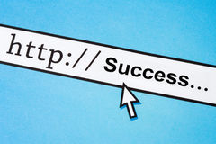 Online Business Success Royalty Free Stock Photography