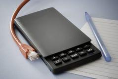 Online Calculator Stock Image