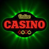 Online casino banne Stock Photography