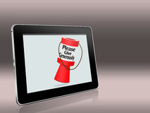 Online charitable giving. Royalty Free Stock Photos