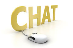 Online Chat Royalty Free Stock Photos