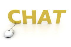 Online Chat Stock Images