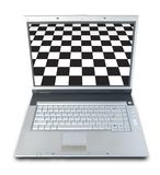 Online Checker Stock Photo