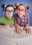 Online chiacchierando Fotografia Stock Libera da Diritti