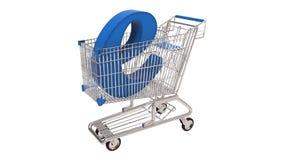 Online commerce Concept Stock Image