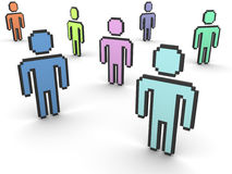 Online-Community Stockfotos