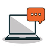 Online community design. Illustration eps10 graphic Royalty Free Stock Photo