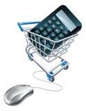Online comparison concept Stock Photo