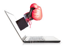 Online Competitor Stock Photo