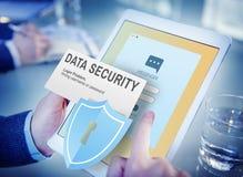 Online Concept van gegevensbeveiliging het Digitale Internet Phishing Stock Fotografie
