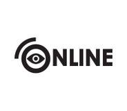 Online conceptontwerp Royalty-vrije Stock Foto