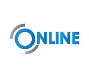Online conceptontwerp Royalty-vrije Stock Afbeeldingen