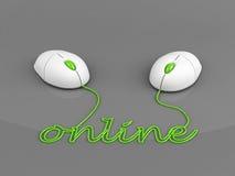 Online connection concept vector illustration