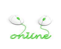 Online. connection concept Royalty Free Stock Photos