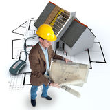 Online construction follow-up Stock Photos