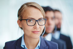 Online consultant Stock Images