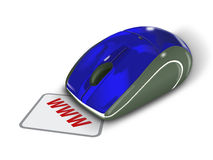 Online - Contact Us. Contact Us Displayed - on the mouse vector illustration