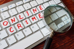 Online crime. Stock Photos