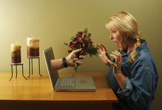 Online Dating stock photography