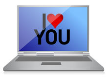 Online dating concept Stock Photography