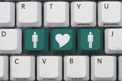 Online Dating Royalty Free Stock Images