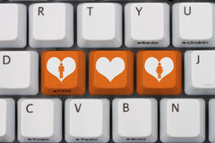 Online Dating stock images