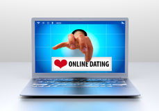 Online Dating Royalty Free Stock Photos