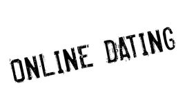 Online Dating rubber stamp Royalty Free Stock Images