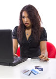 Online Debt Relief Stock Photo