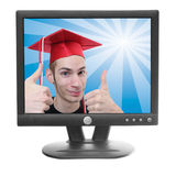 Online Degree Stock Photo