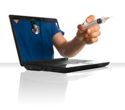 Online Doctor royalty free stock image